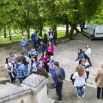 Vizită la capela și la mormintele familiei Brătianu