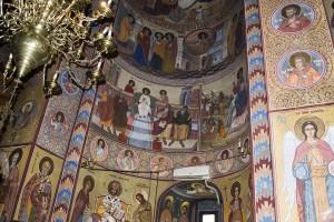 interior Mănăstirea Dealu